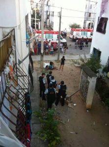 Garota de 15 anos morre atingida por bala perdida durante tiroteio entre policiais e bandidos em Fortaleza