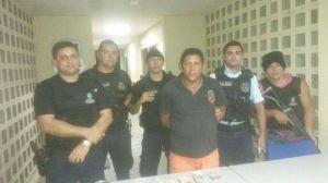 Traficante Zé Diniz, preso em Morada Nova-CE.